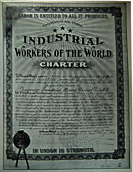IWW charter
