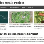 bioeconomies-media-project