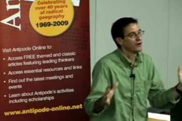 Antipode Lecture Series 2009