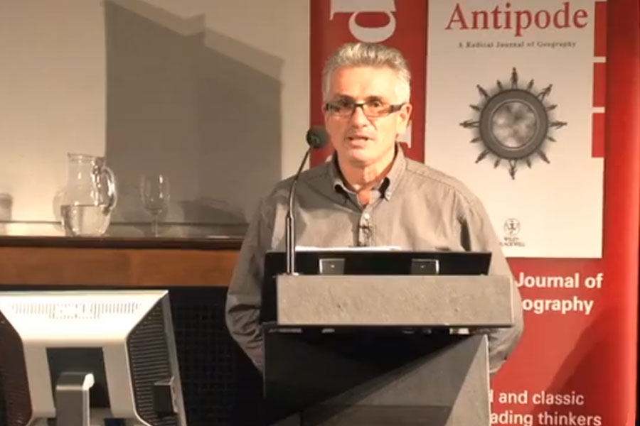 Antipode Lecture Series 2011